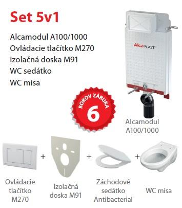 WC SET ALCAMODUL:M270,A100,M91,A60