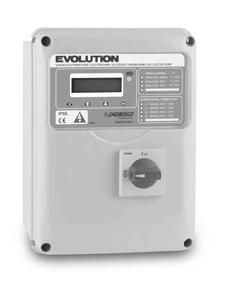 CP EVOLUTION-MONO 230V /0,37-2,2kW/